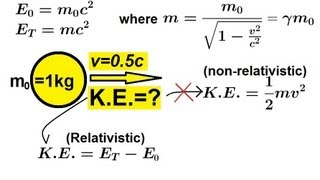 Physics - Special Relativity (9 of 43) Relativistic Energy: A General Approach
