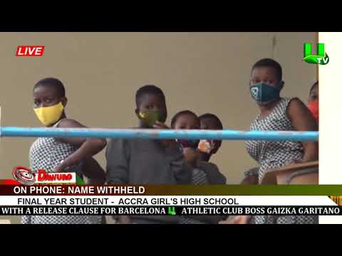 Tension At Accra Girls' SHS As Parents Storm School To Pick Up Their Wards