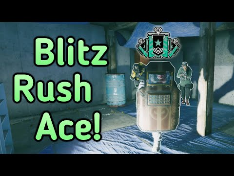 Rushing With Blitz: Xbox Diamond - Ranked Highlights - Rainbow Six Siege Gameplay