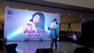 Julie Anne San Jose At SM San Jose Bulacan (Right Where You Belong)