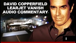 Learjet Plane Vanish With Commentary By David Copperfield  Airplane Disappears