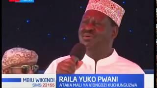 Raila na Joho wapongeza hatua ya Uhuru Kenyatta ya kuwataka viongozi kupigwa msasa maisha yao