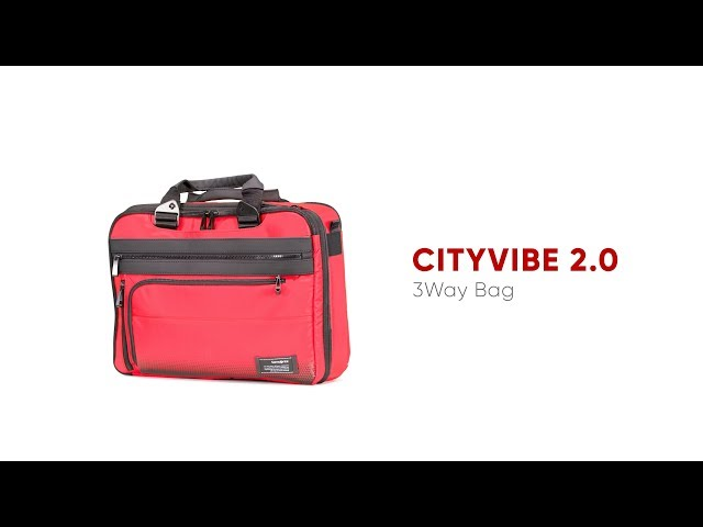 "Cityvibe 2.0 Briefcase  15.6"" video 1"