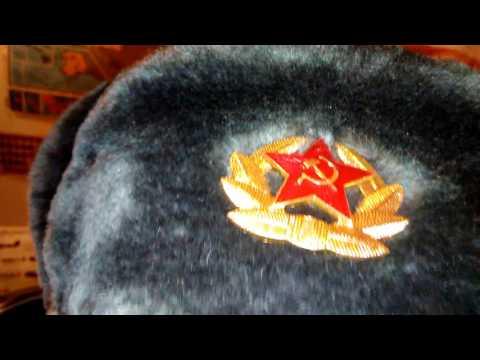 Russian ushanka.