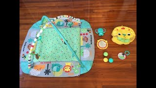 Best Play Gym! // Bright Starts 5 In 1 Your Way Ball Play Activity Gym Review
