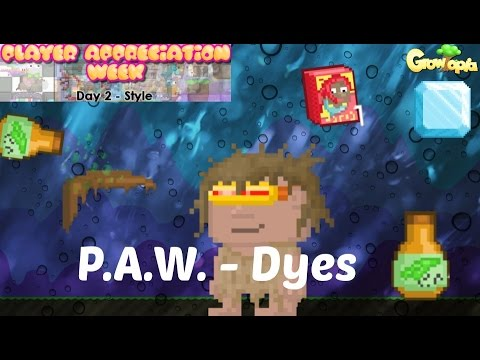 Video Growtopia | P.A.W. - Dyes