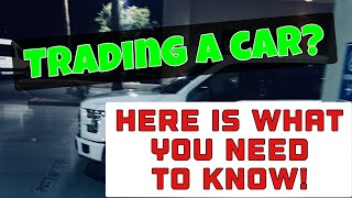 How to Trade in a Car that is not Paid Off | MONEY $AVING TIP$