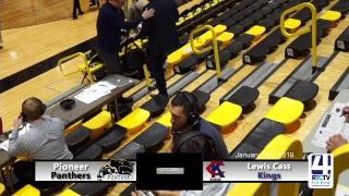 Pioneer Varsity Boys Basketball vs Lewis Cass