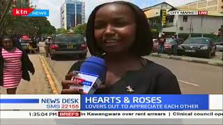 Kenyans celebrate Valentines Day in style