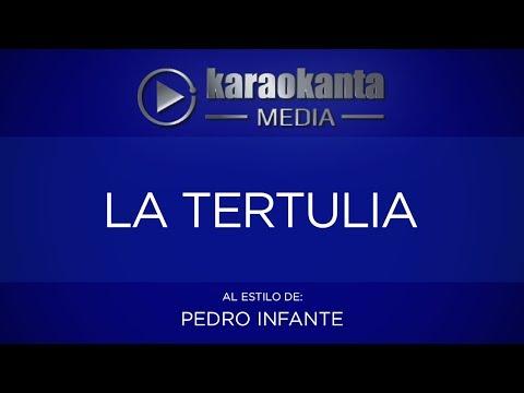La tertulia Pedro Infante