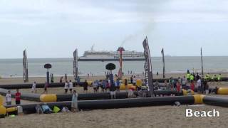 preview picture of video 'Calais France A Day trip in just 5 minutes (town, beach and fun)'