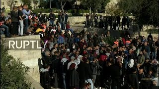 LIVE: Outside Damascus Gate following Trump's recognition of Jerusalem as Israel's capital