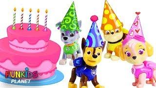 Learn Color with Paw Patrol Big Birthday Bash!