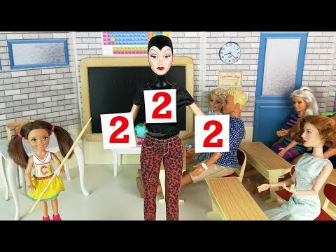 ДИРЕКТОР, К ДОСКЕ! День Наоборот 2 Мультик Барби #Школа Куклы Игрушки Для девочек IkuklaTV