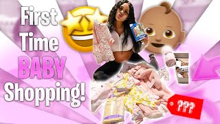 FIRST TIME BABY SHOPPING FOR MY BABYGIRL VLOG 🧸💕 | SHADED BY JADE
