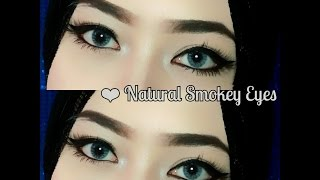 Tutorial Alis tanpa dicukur & Natural Smokey Eyes