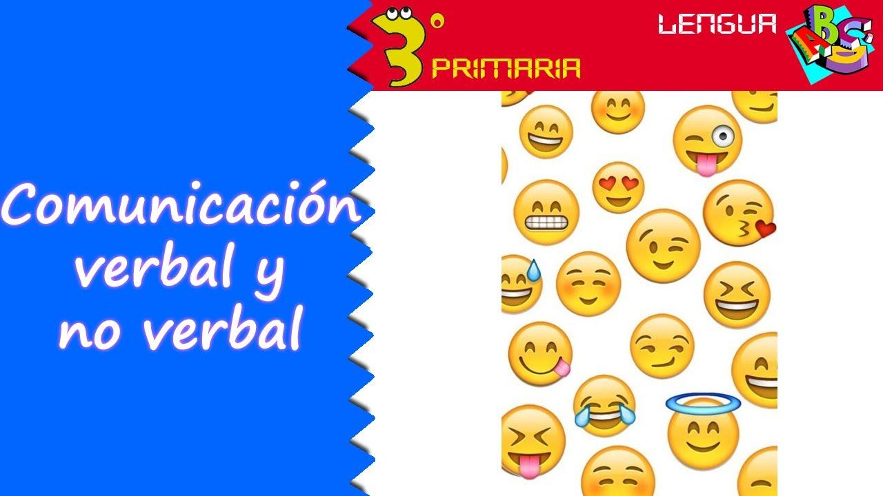 Lengua Castellana. 3º Primaria. Tema 1. La comunicación (verbal y no verbal)