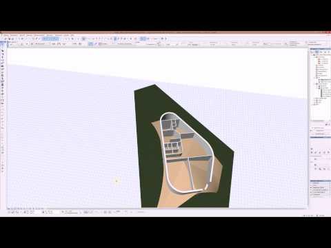 Archicad 18   Islerschalendach mit Werkzeug Schalen