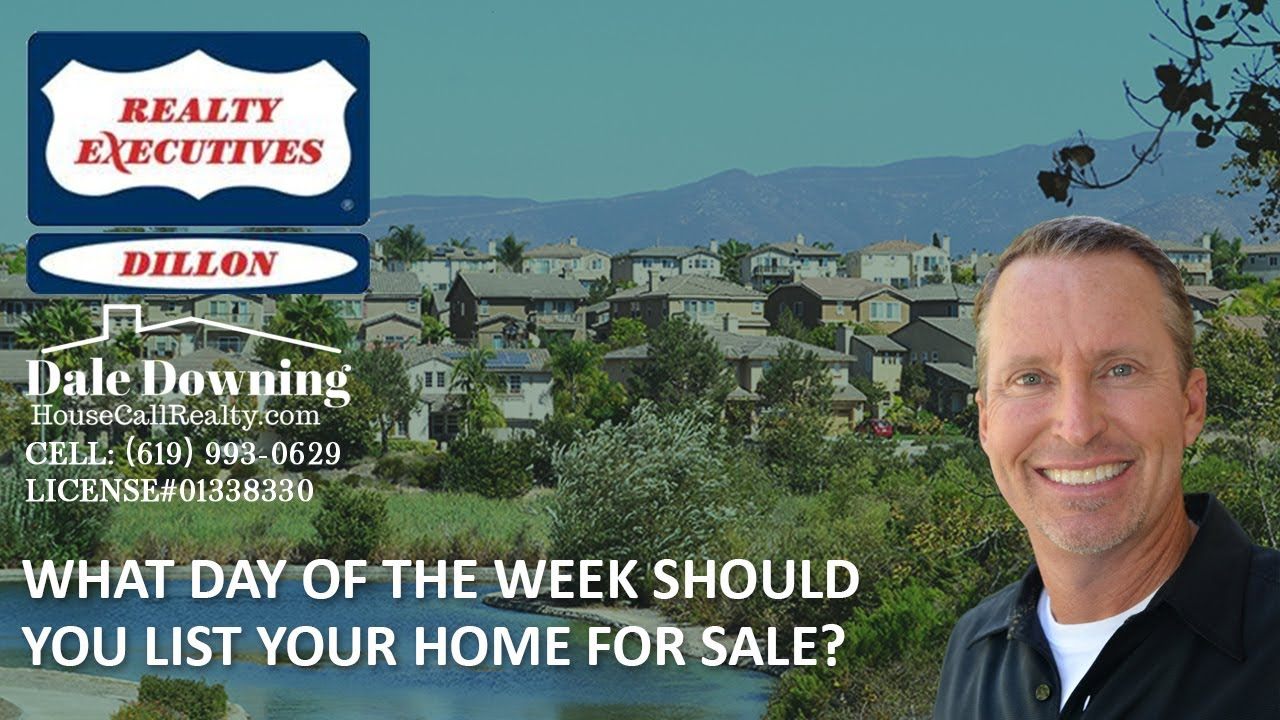 What Day of the Week Should You List Your Home for Sale?