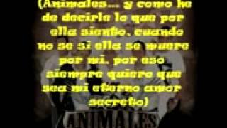 Tu Admirador Secreto Animales (letra)