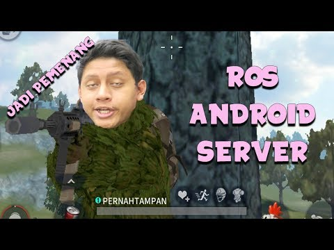 ROS ANDROID DAPET GHILLIE SUIT SAMPAI MENANG ?! - Rules of Survival
