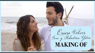 Making Of: 'Quiero Volver' con Sebastian Yatra | TINI