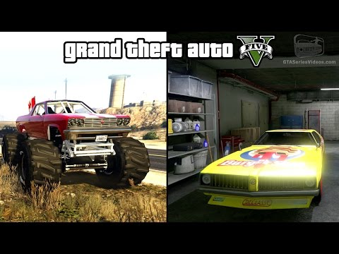 GTA 5 - Cheval Marshall & Stock Car Races Gameplay (How To Unlock) [PS4 & Xbox One]
