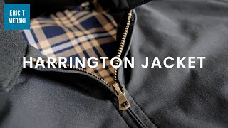 How To Style A Harrington Jacket | Essential Outerwear | Mens Fashion