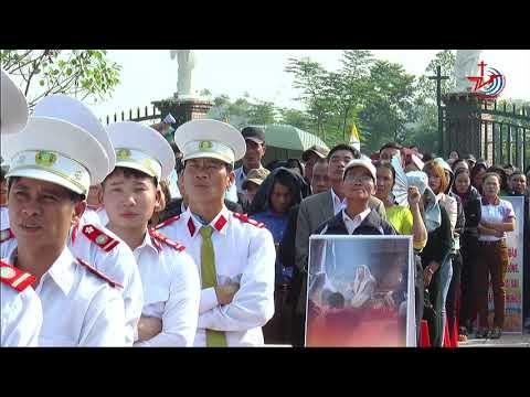 video thanh le be mac nam thanh ton vinh cac thanh tu dao viet nam 24.11.2018
