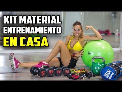 KIT MATERIAL BASICO ENTRENAMIENTO EN CASA || FITBALL, COLCHONETA, GOMAS ELASTICAS