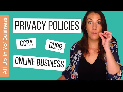Privacy Policy for Your Website or Online Businesses | How to Make a Privacy Policy