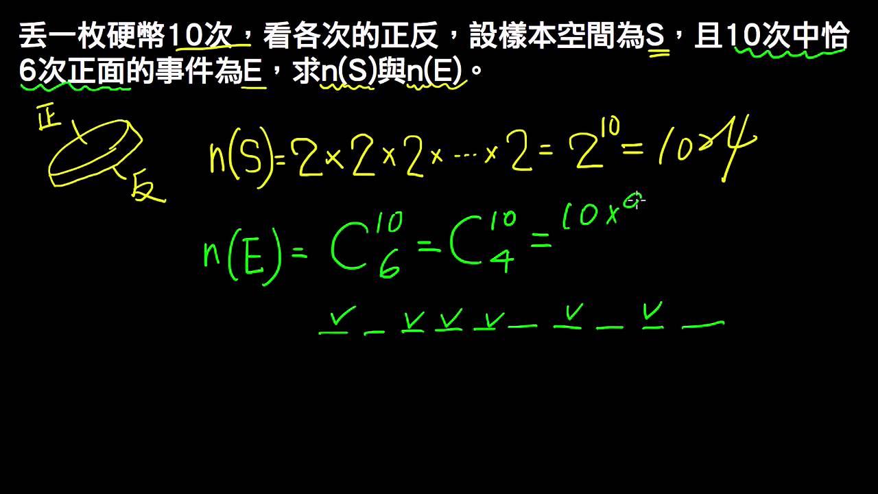 高一下數學3-1例題06事件個數   樣本空間與事件   均一教育平臺