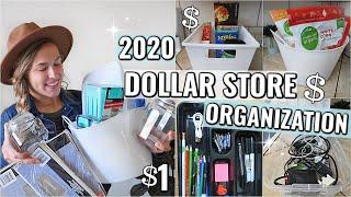 DOLLAR STORE ORGANIZATION IDEAS 2020   ORGANIZING ON A BUDGET