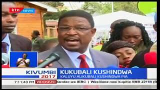 Japheth Kaluyu apongeza wagombea urais wenzake na maandalizi bora ya IEBC
