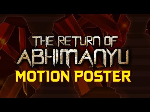 The Return of Abhimanyu (Irumbu Thirai) 2018 Official Motion Poster | Vishal, Samantha, Arjun Sarja