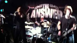 "The Answer ""Trouble"" live in Paris '12"