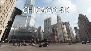 Michigan Avenue (Chicago, Illinois, USA) map and video in