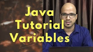 #2.2 Java Tutorial |  Working with Variables