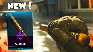 NEW DAINSLEIF MELEE WEAPON IN MODERN WARFARE!!