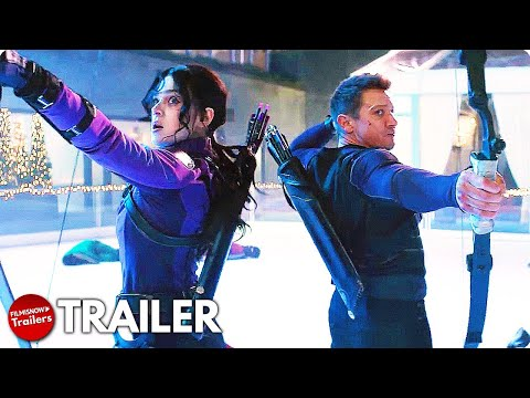 Hawkeye Trailer Starring Jeremy Renner and Hailee Steinfeld