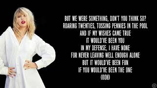 Taylor Swift - THE 1 (Lyrics)
