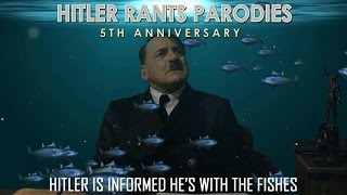 Hitler is informed he's with the fishes