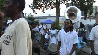 TBC Brass Band perform for Big Shot at Zulu Election 2011