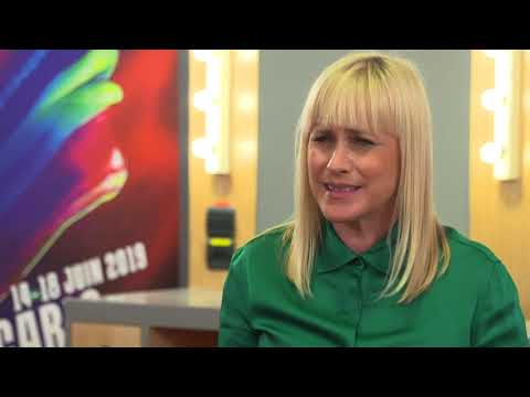 FESTIVAL 2019 - Interview Patricia Arquette - ESCAPE AT DANNEMORA