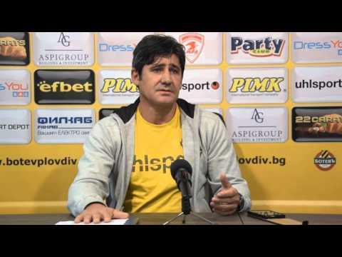 Николай Костов: Не очаквайте гръмки трансфери, изграждането на стадион е приоритет за Ботев