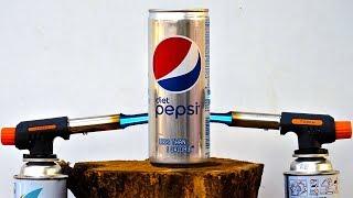 Gas Torch Vs Pepsi EXPERIMENT