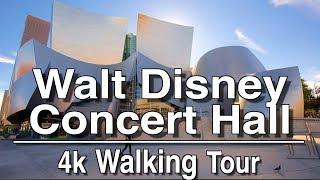 Walt Disney Concert Hall Walking Tour | 4k Dji Osmo | Ambient Music