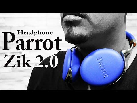 Review (análise) do Headphone Parrot Zik 2.0 – Um jeito diferente de usar headphone!