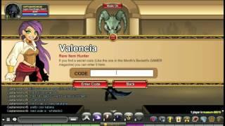 =AQW= Valencia Codes 2016