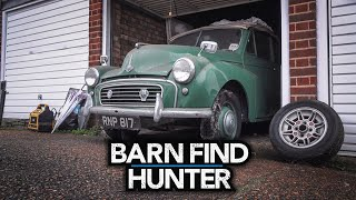 Hot rods, Ardun heads, and a forgotten Morris Minor | Barn Find Hunter - Ep. 83 (UK Trip 3/5)